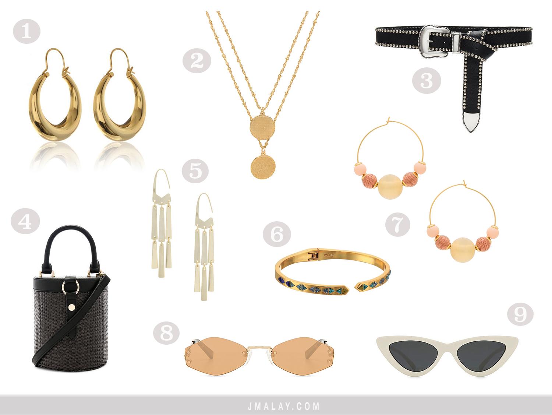 Coachella 2018 must have accessories shop guide essentials jewelry