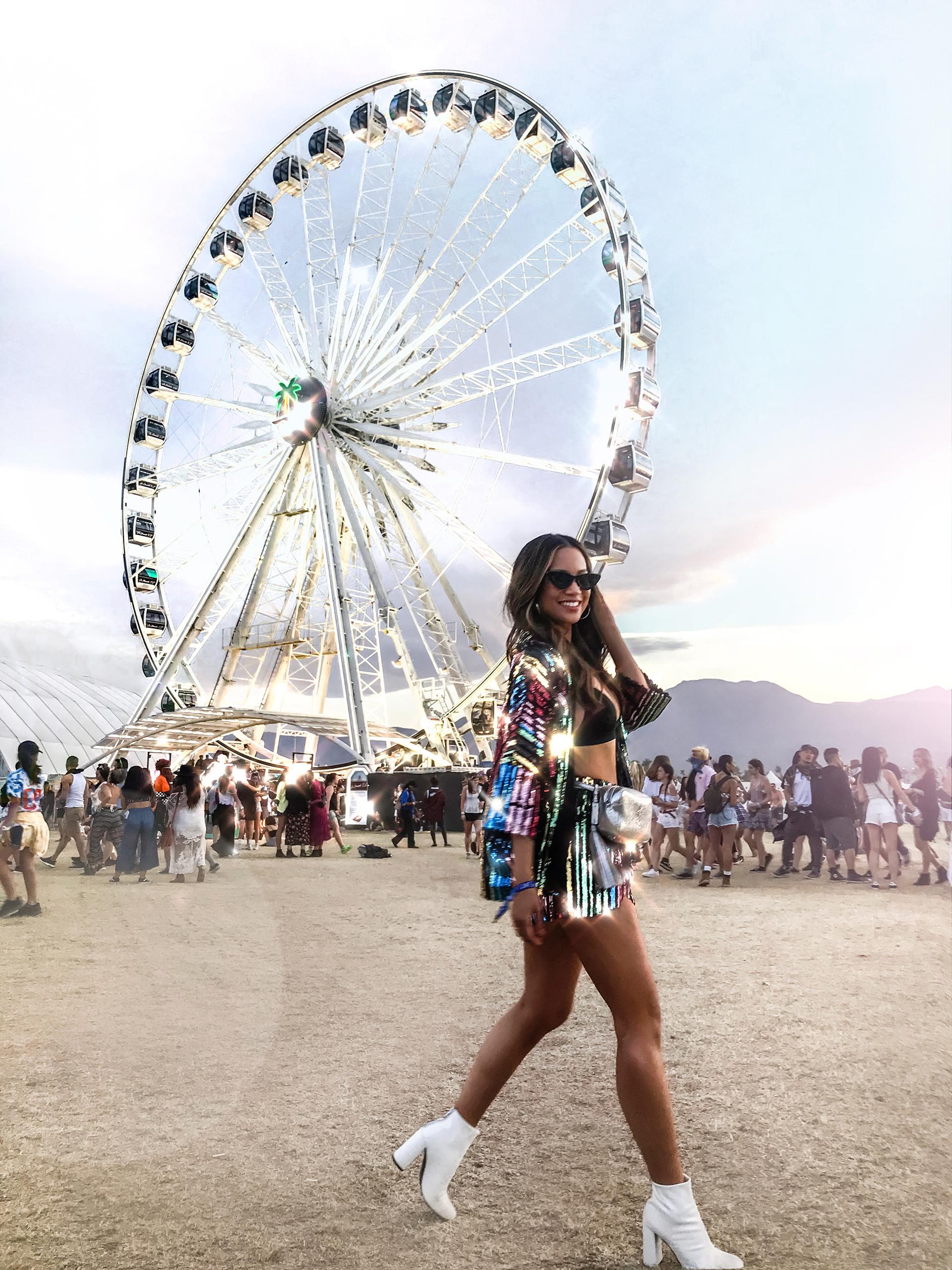 Coachella iconic Ferris wheel best photo opps Coachella guide