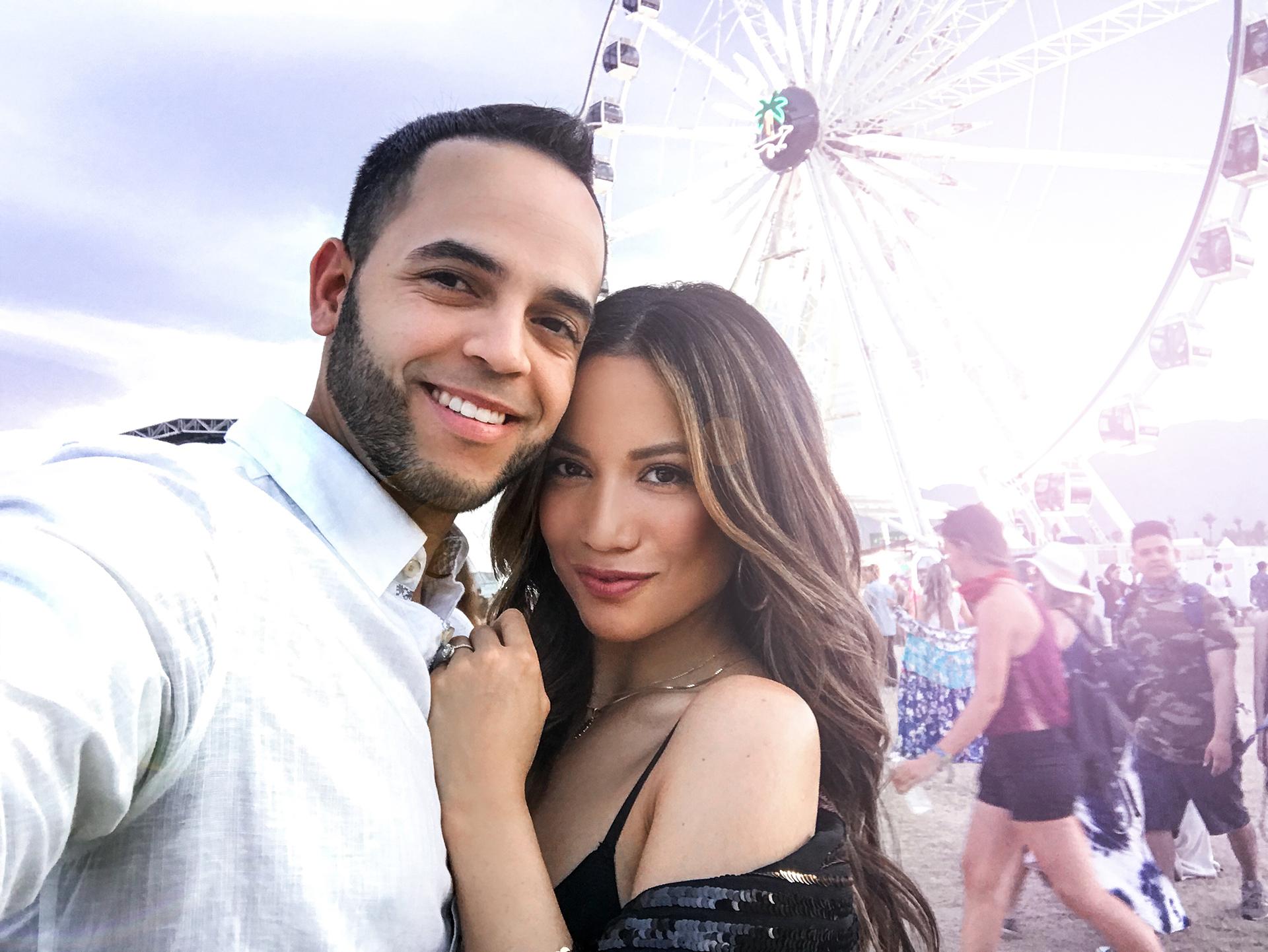 Jessi Malay Husband Coachella 2018