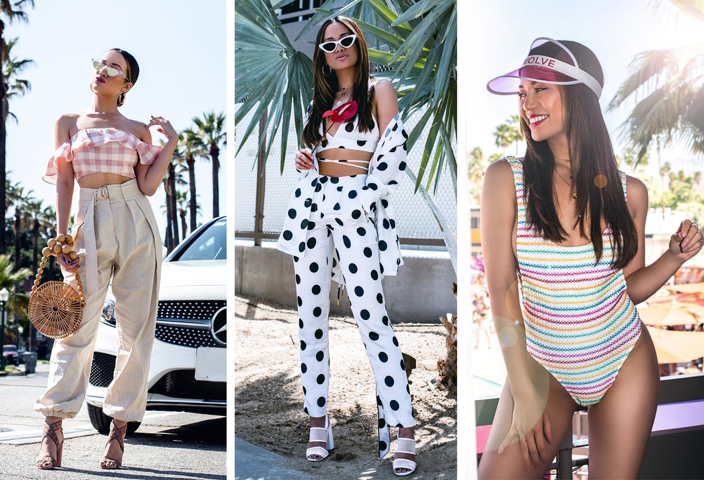 Jessi Malay Revolve Festival 2018 Coachella Recap Outfits
