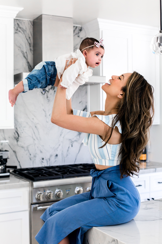 Jessi Malay baby Alessandra family