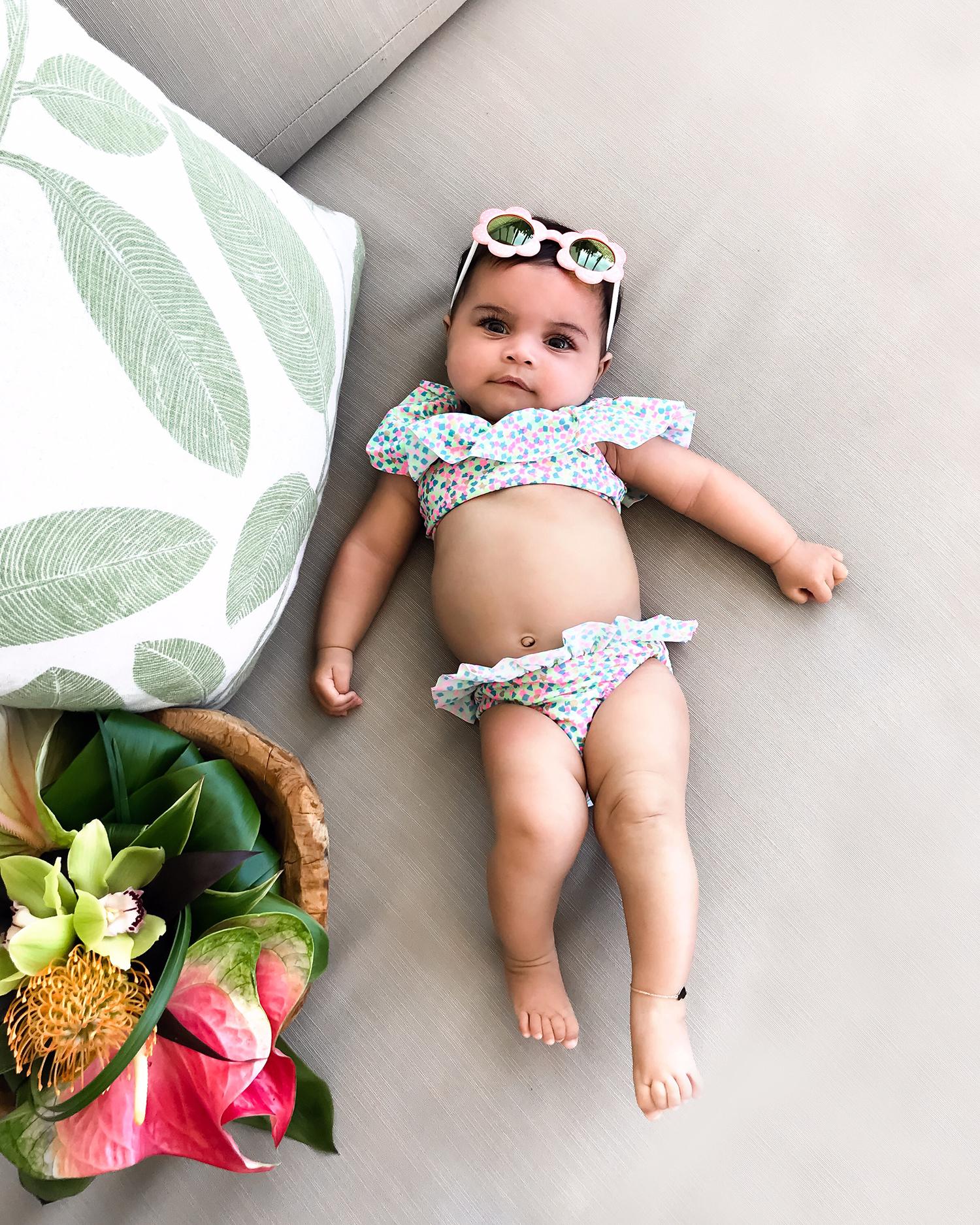 Jessi Malay baby Alessandra Marie