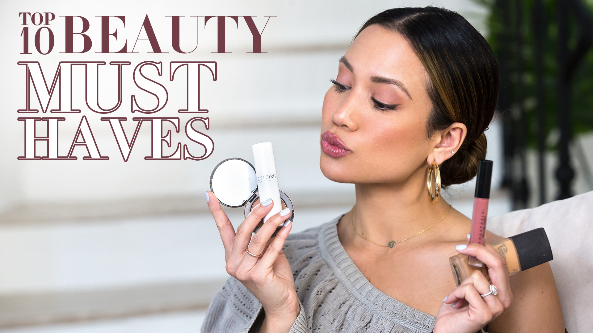 Top 10 favorite beauty items haul Jessi Malay