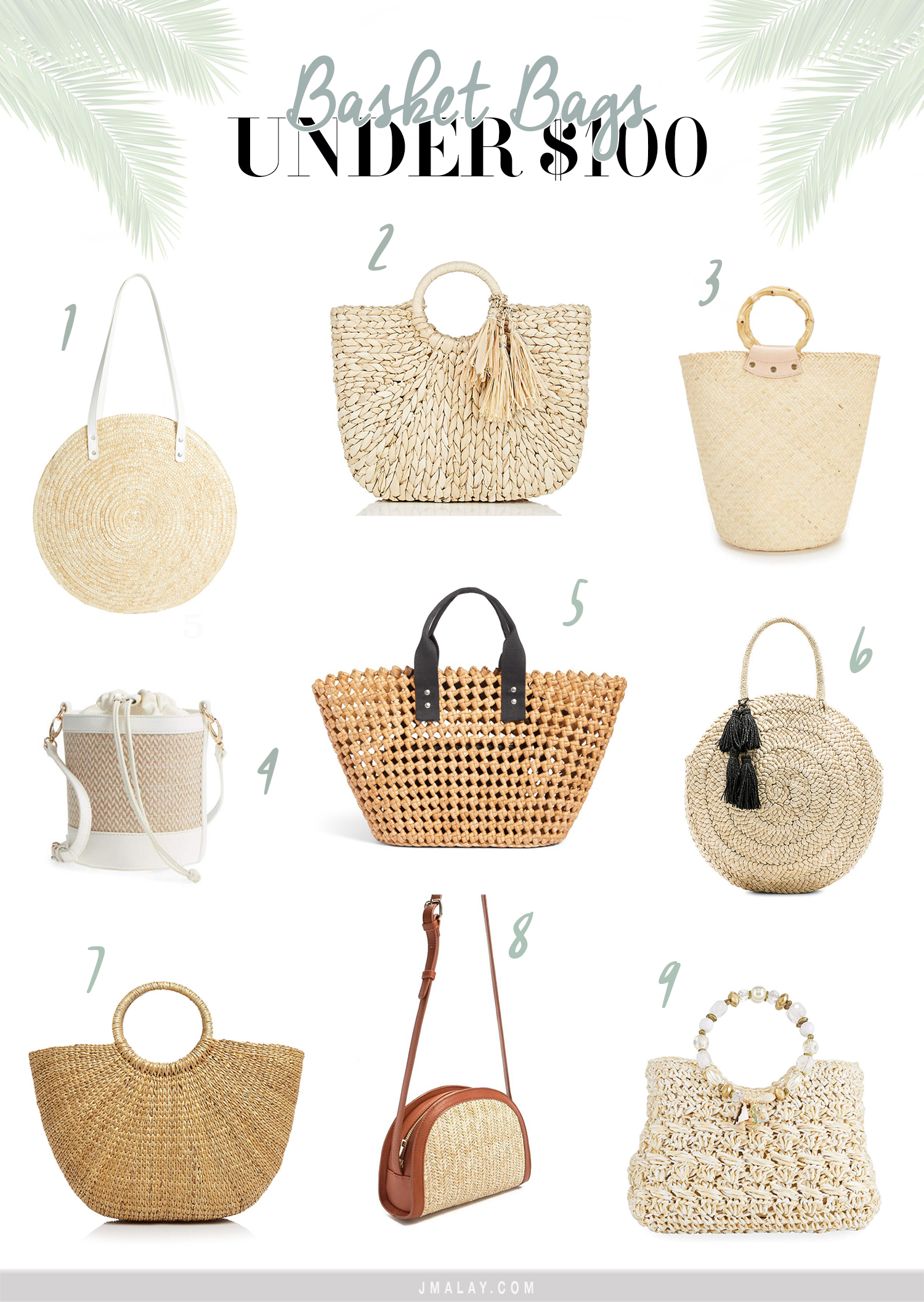 basket bags under $100 must-haves trendy shopping guide