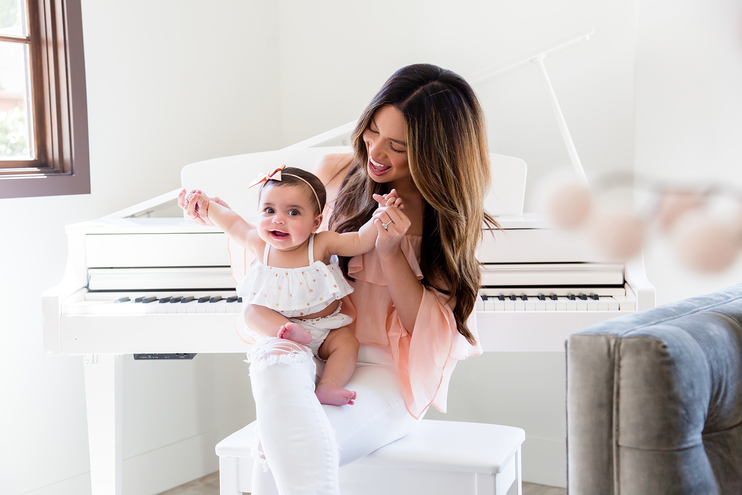 Jessi Malay and Baby Alessandra