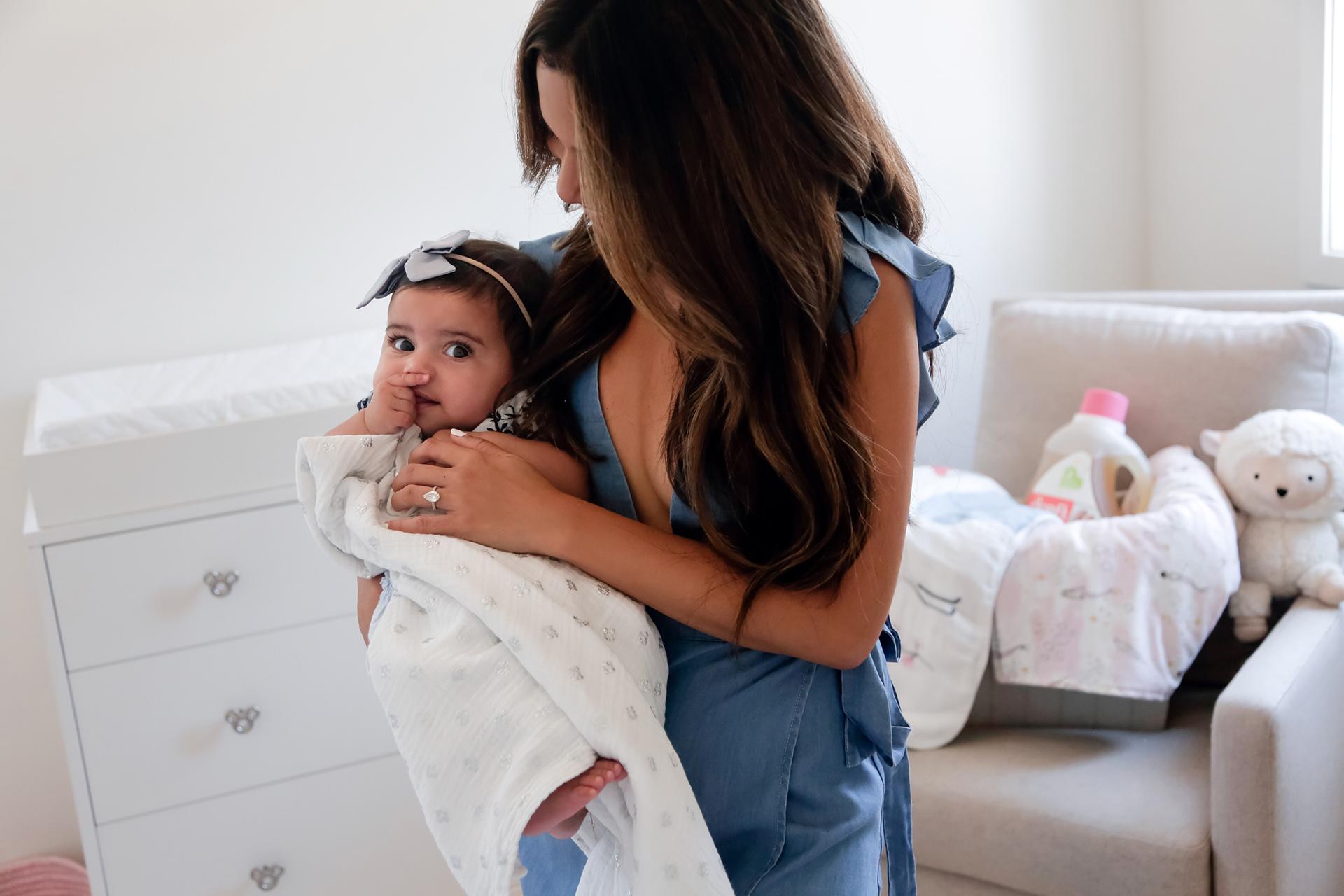 Jessi Malay and baby Alessandra