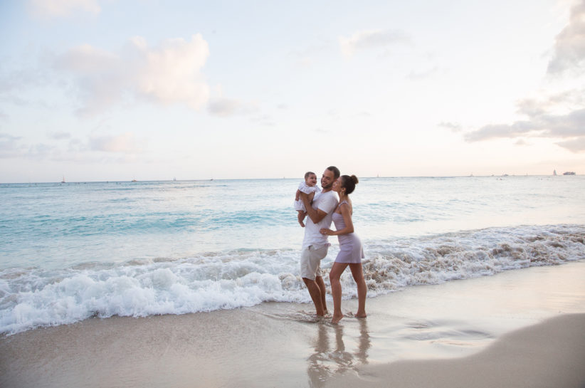 Jessi Malay first family vacation Hawaii