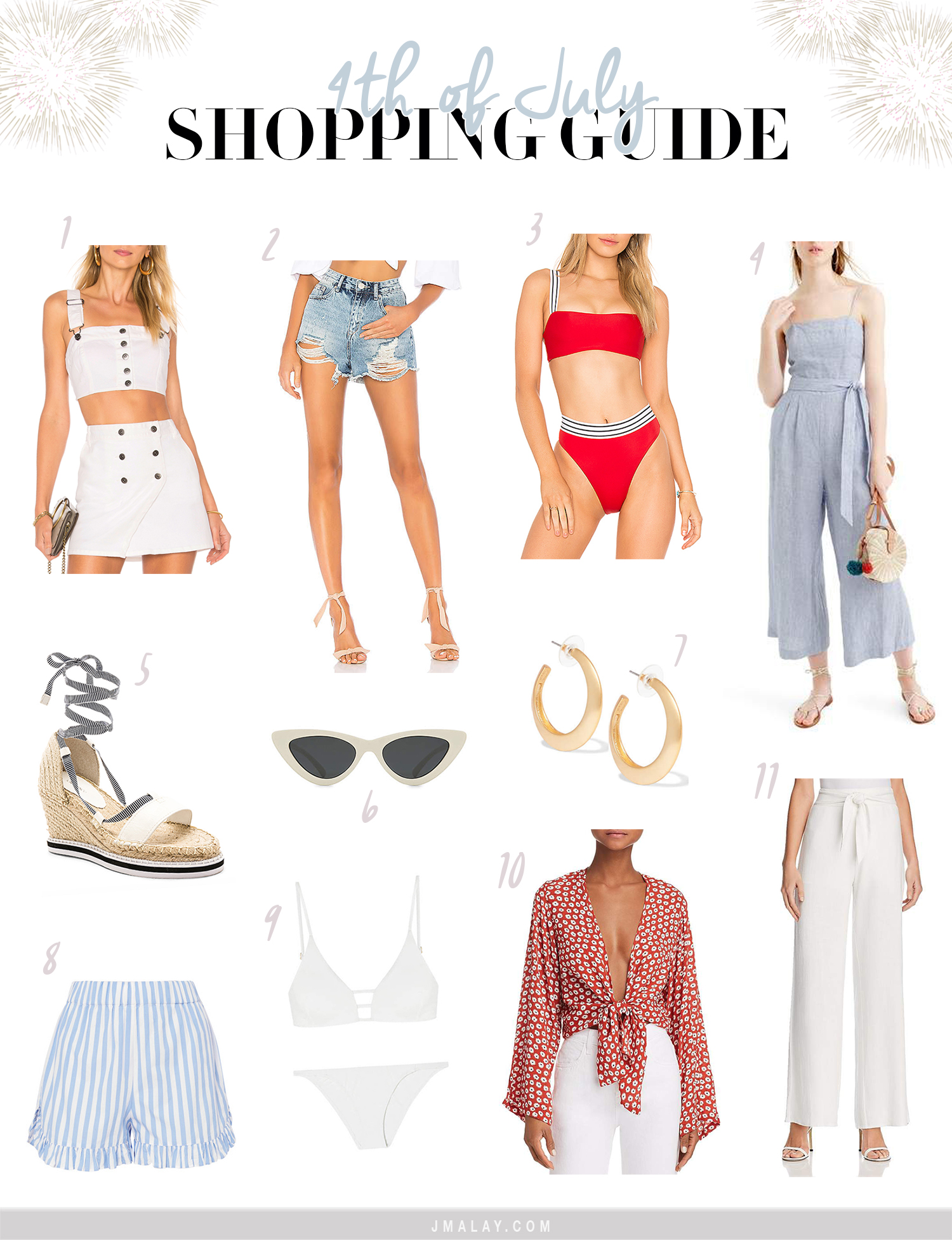 cute 4th of July outfit ideas