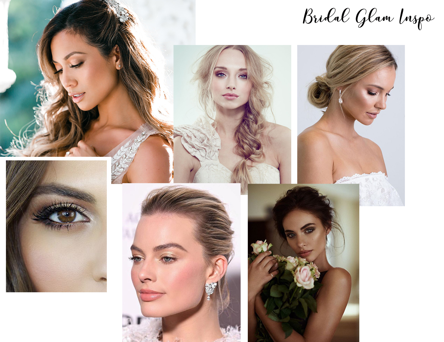 gorgeous wedding makeup looks for brown eyes