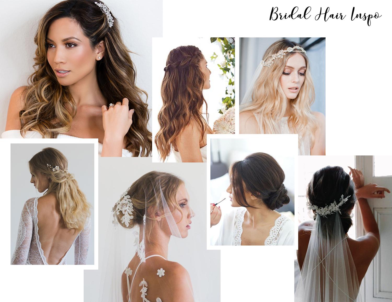 wedding hairstyles ideas inspiration medium length