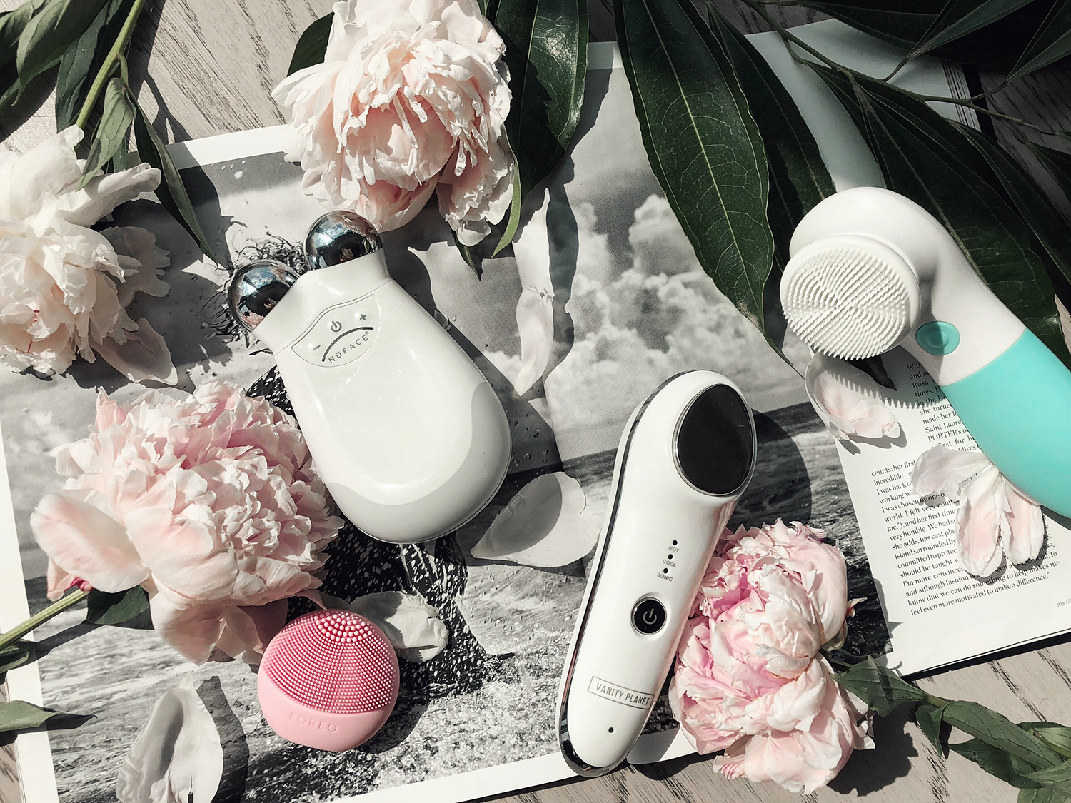 DIY spa day at home skincare gadgets devices