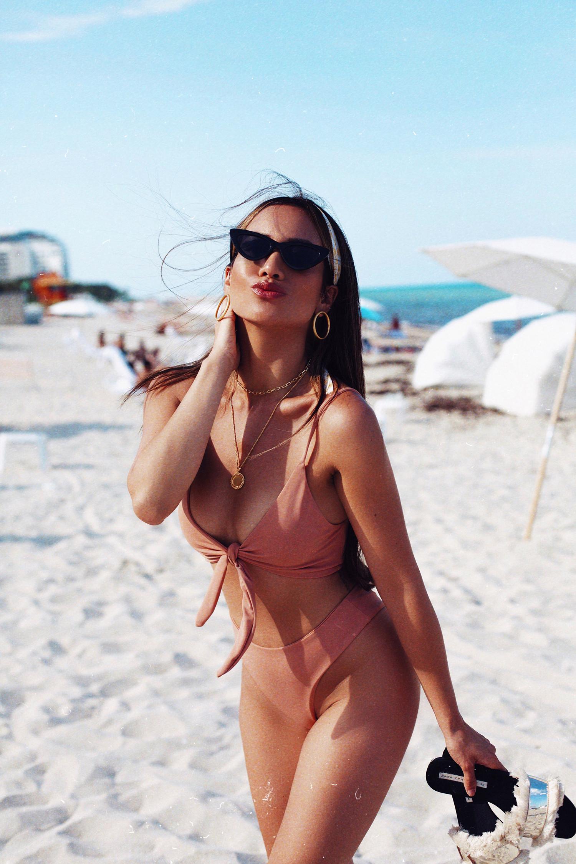 Jessi Malay Miami vacation bikini