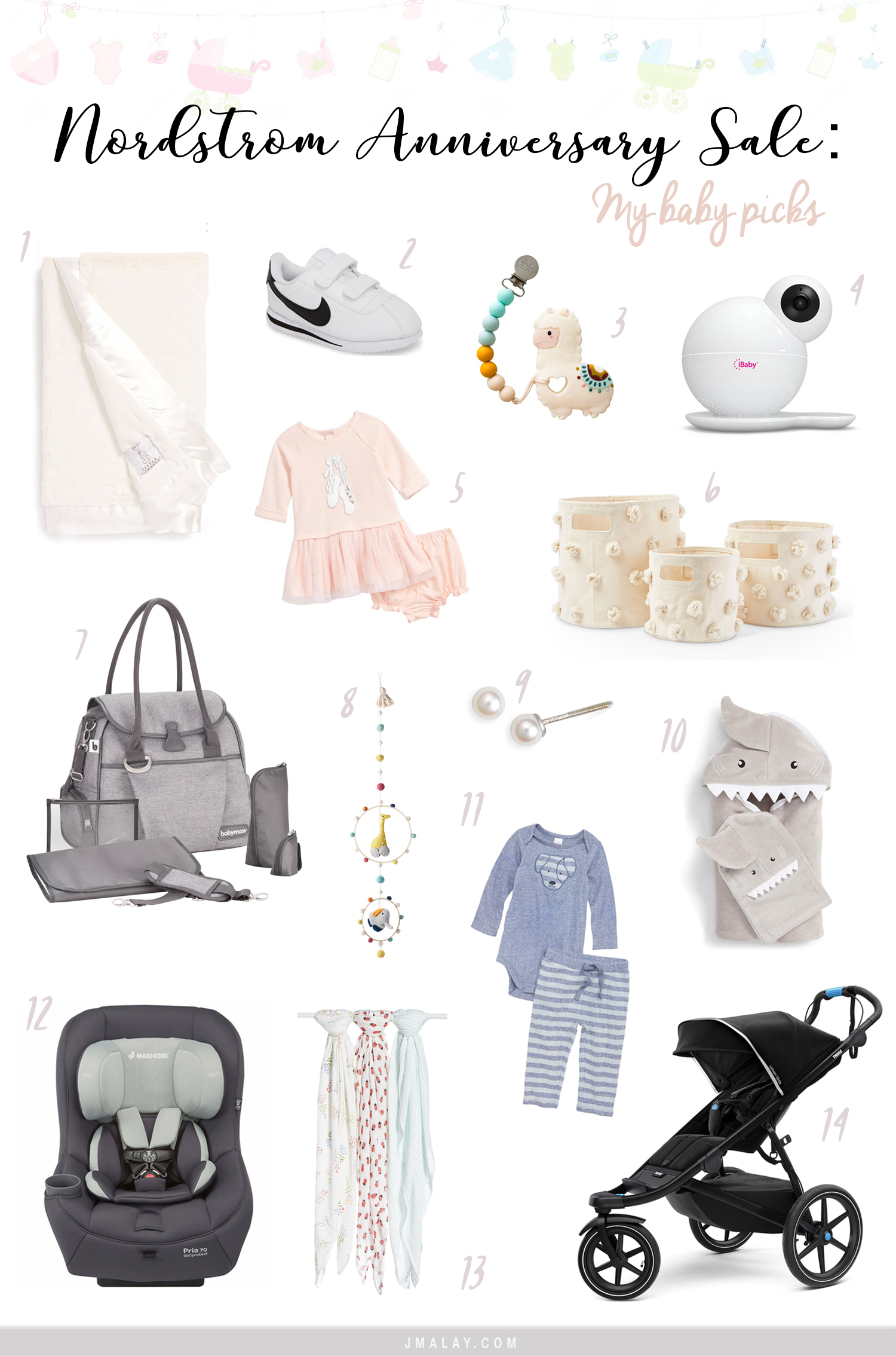 Nordstrom Anniversary Sale 2018 best baby items gear