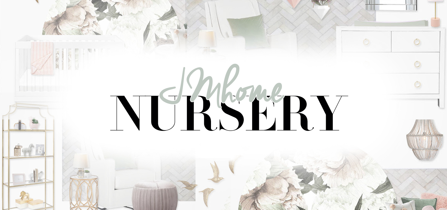 Jessi Malay baby nursery reveal makeover