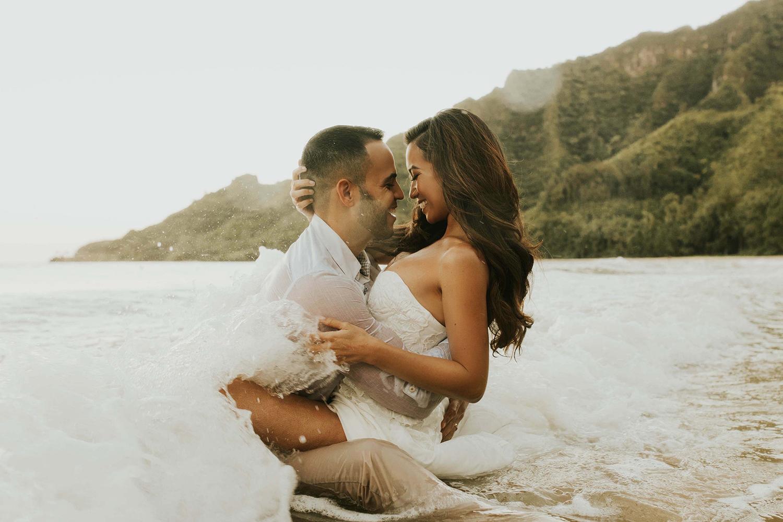 Jessi Malay wedding shoot Hawaii