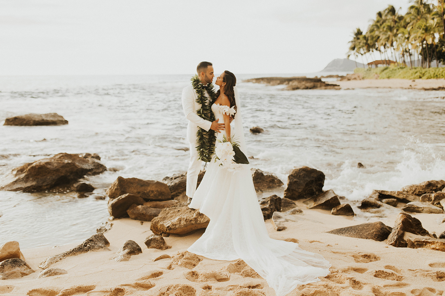 Jessi Malay Hawaii Wedding Four Seasons