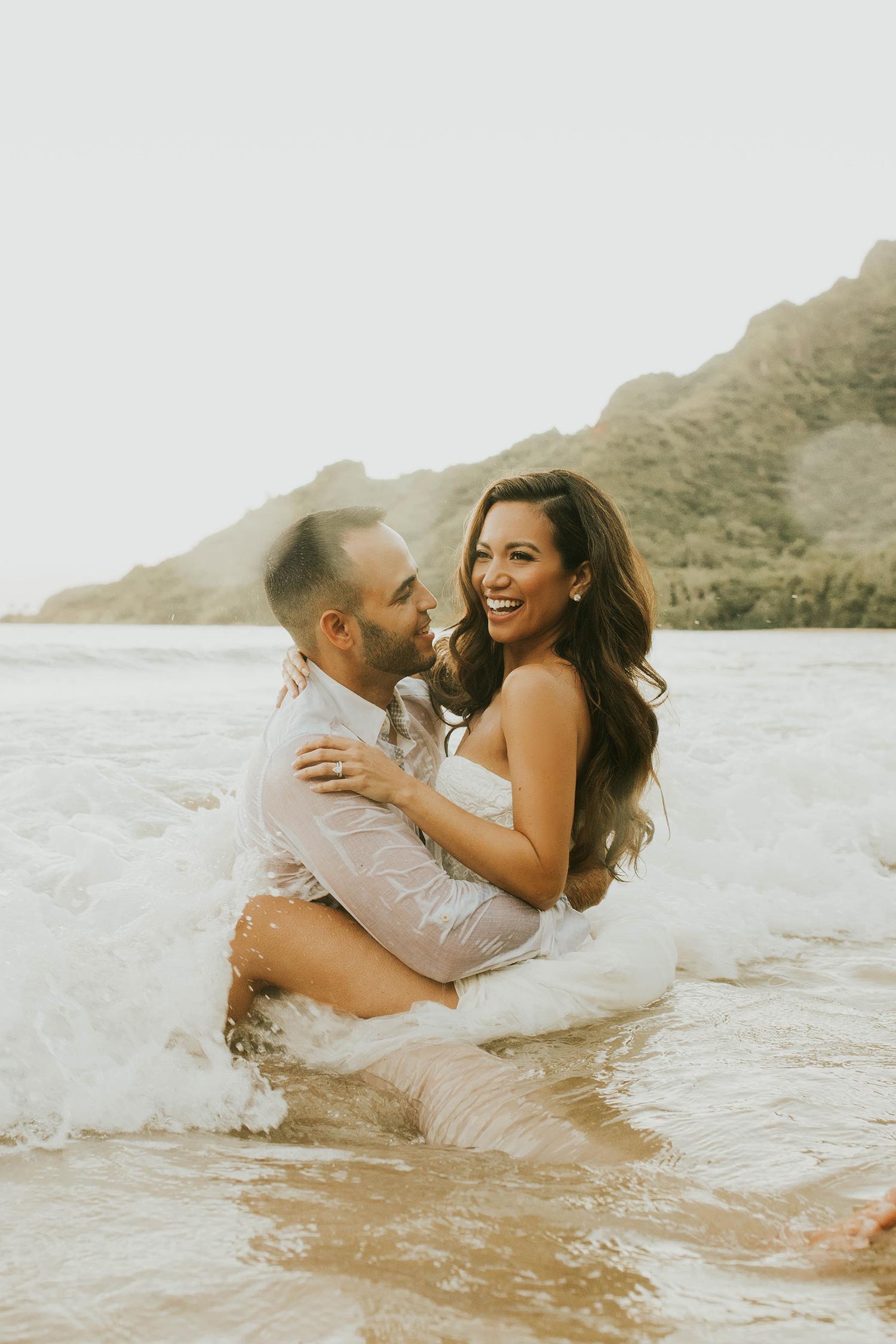 Jessi Malay Wedding Hawaii Oahu