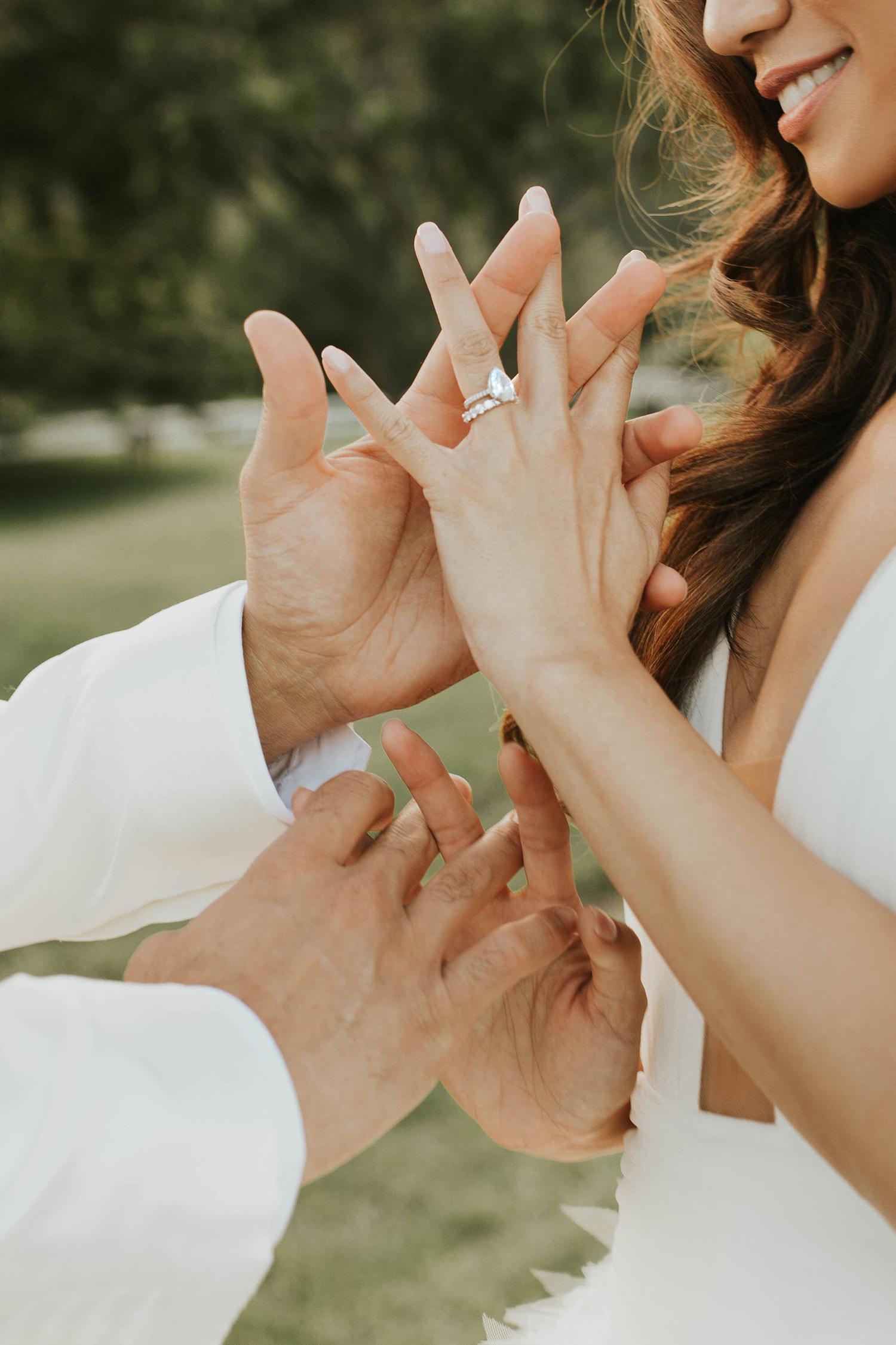 Jessi Malay engagement ring