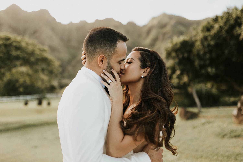 Jessi Malay husband wedding Oahu Hawaii