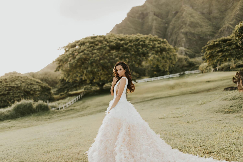 Pronovias Clemente Gown Jessi Malay Wedding