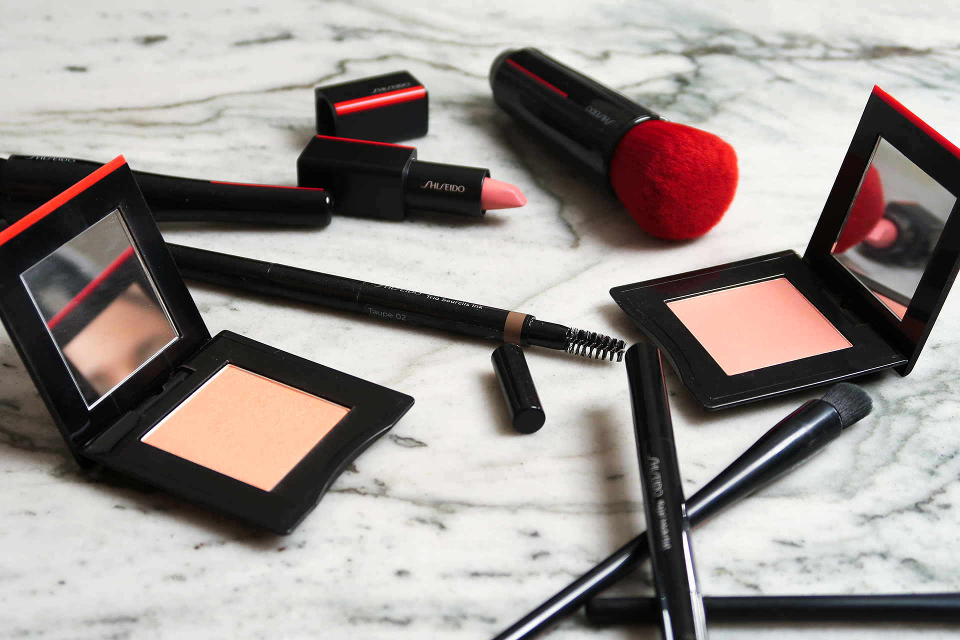 Shiseido Eyeshadows Fall Makeup