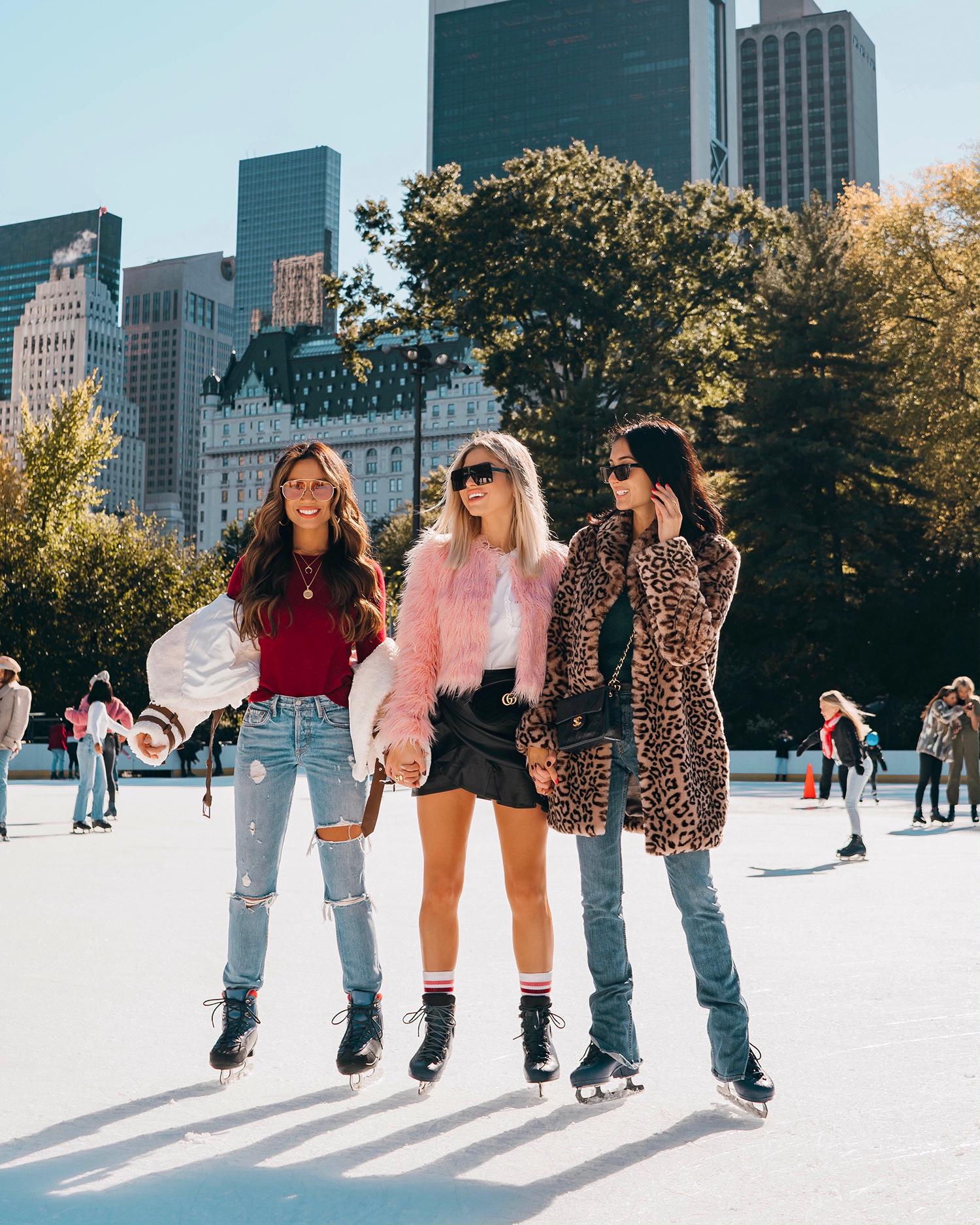 skating rink NYC Central Park