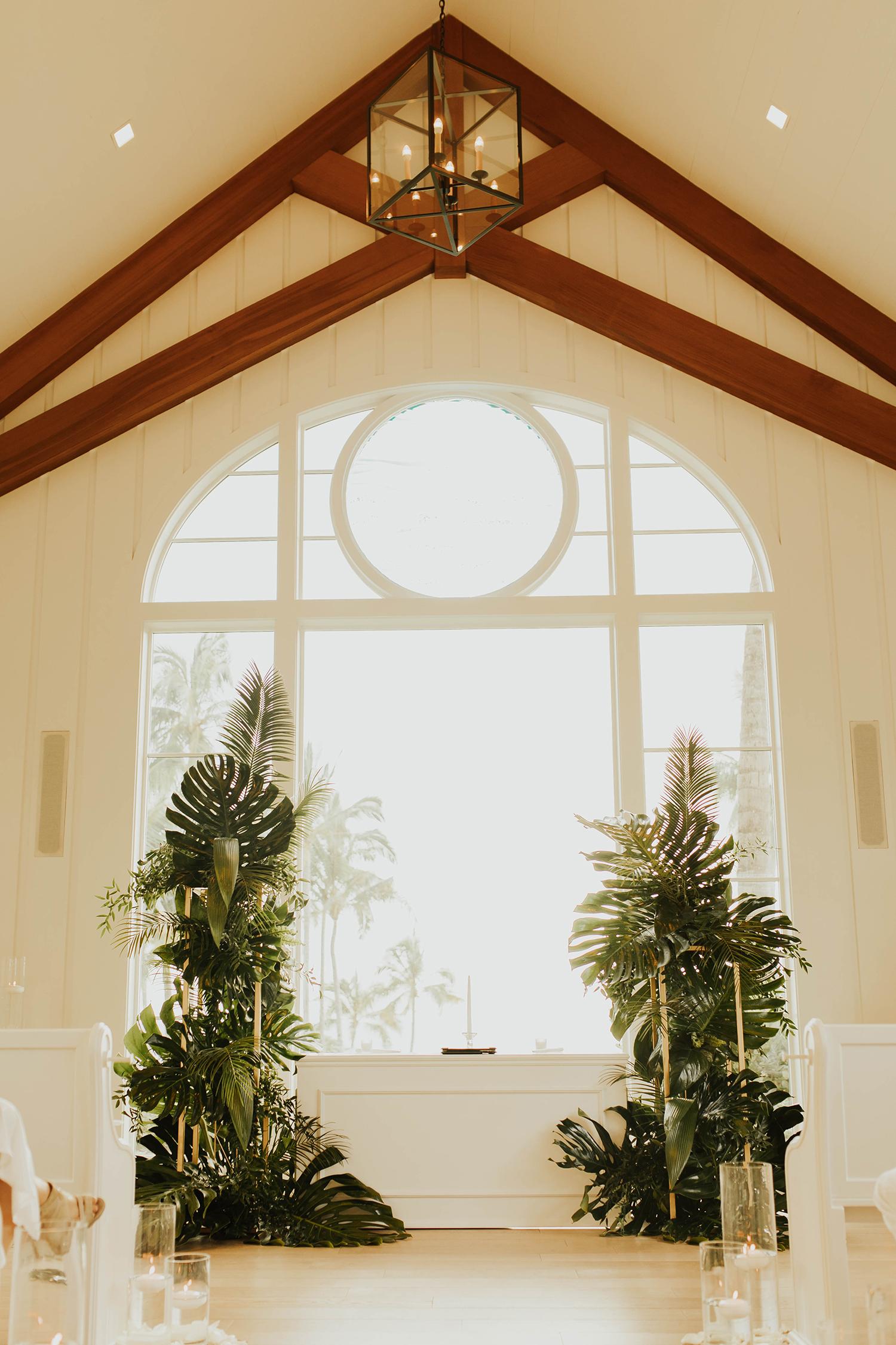 wedding alter florals inspiration