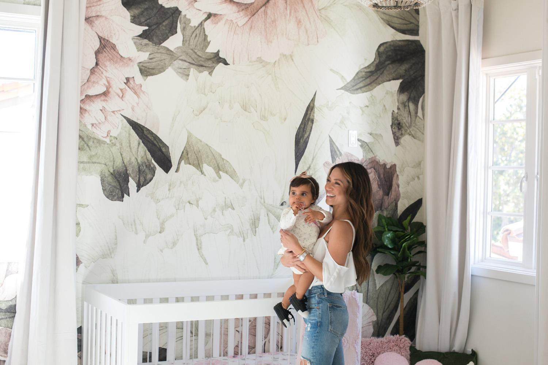 Jessi Malay baby nursery