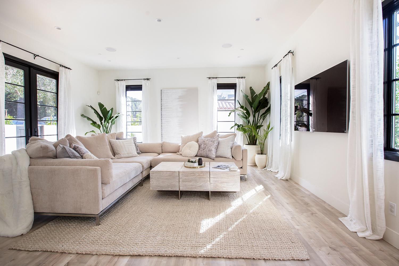 Modern family room design ideas