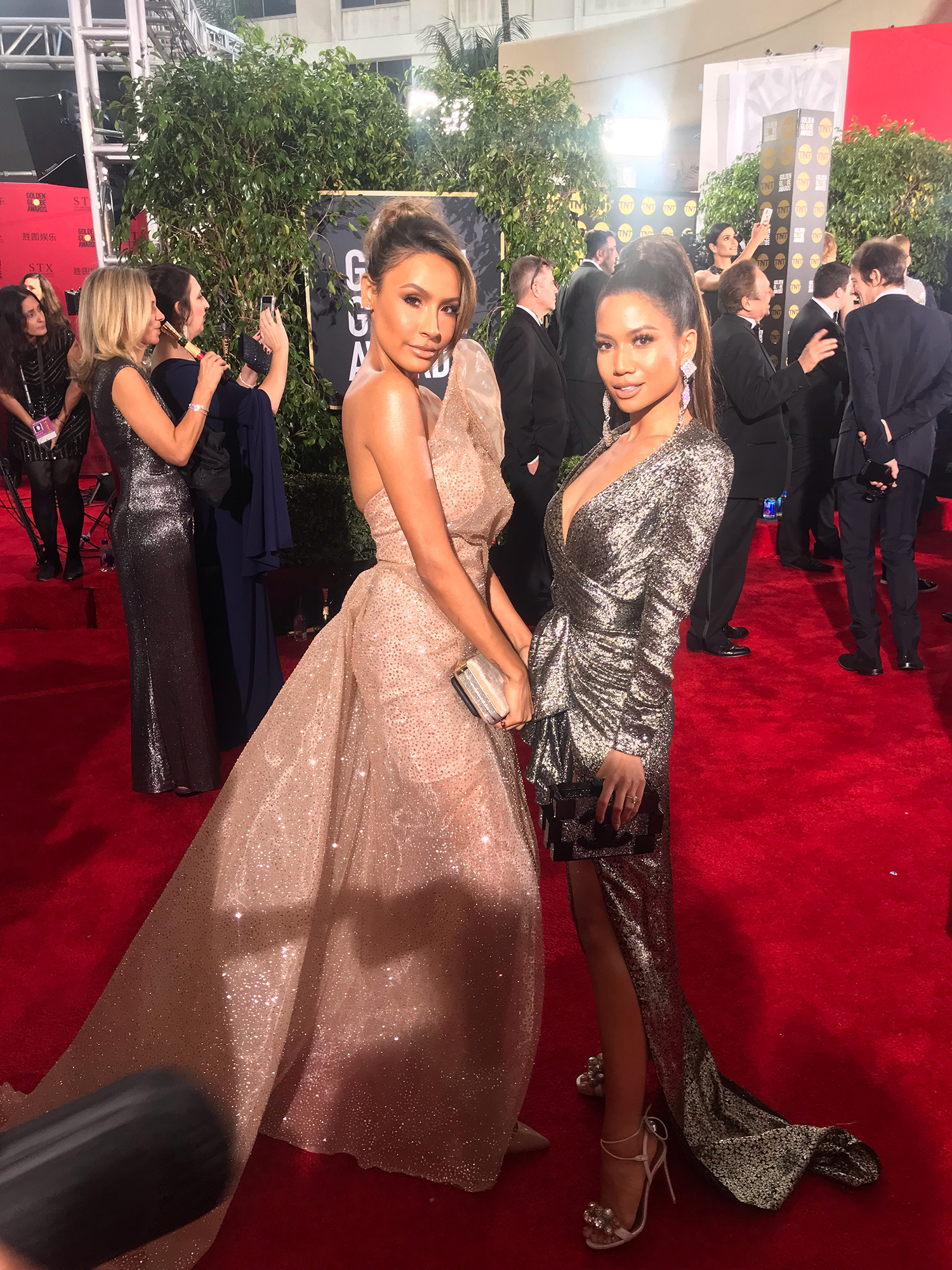 Jessi Malay Desi Perkins Golden Globes 2019