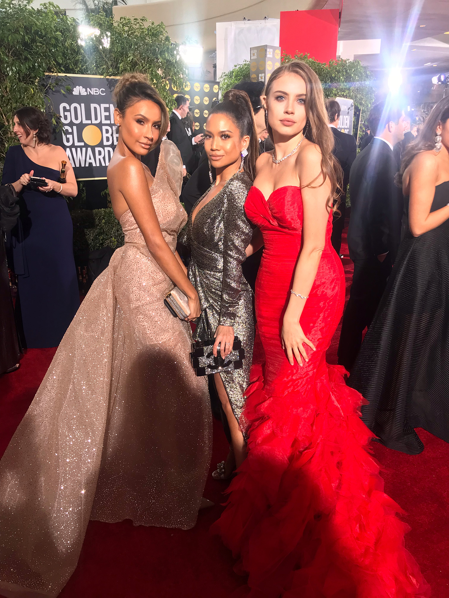 Jessi Malay Golden Globes 2019