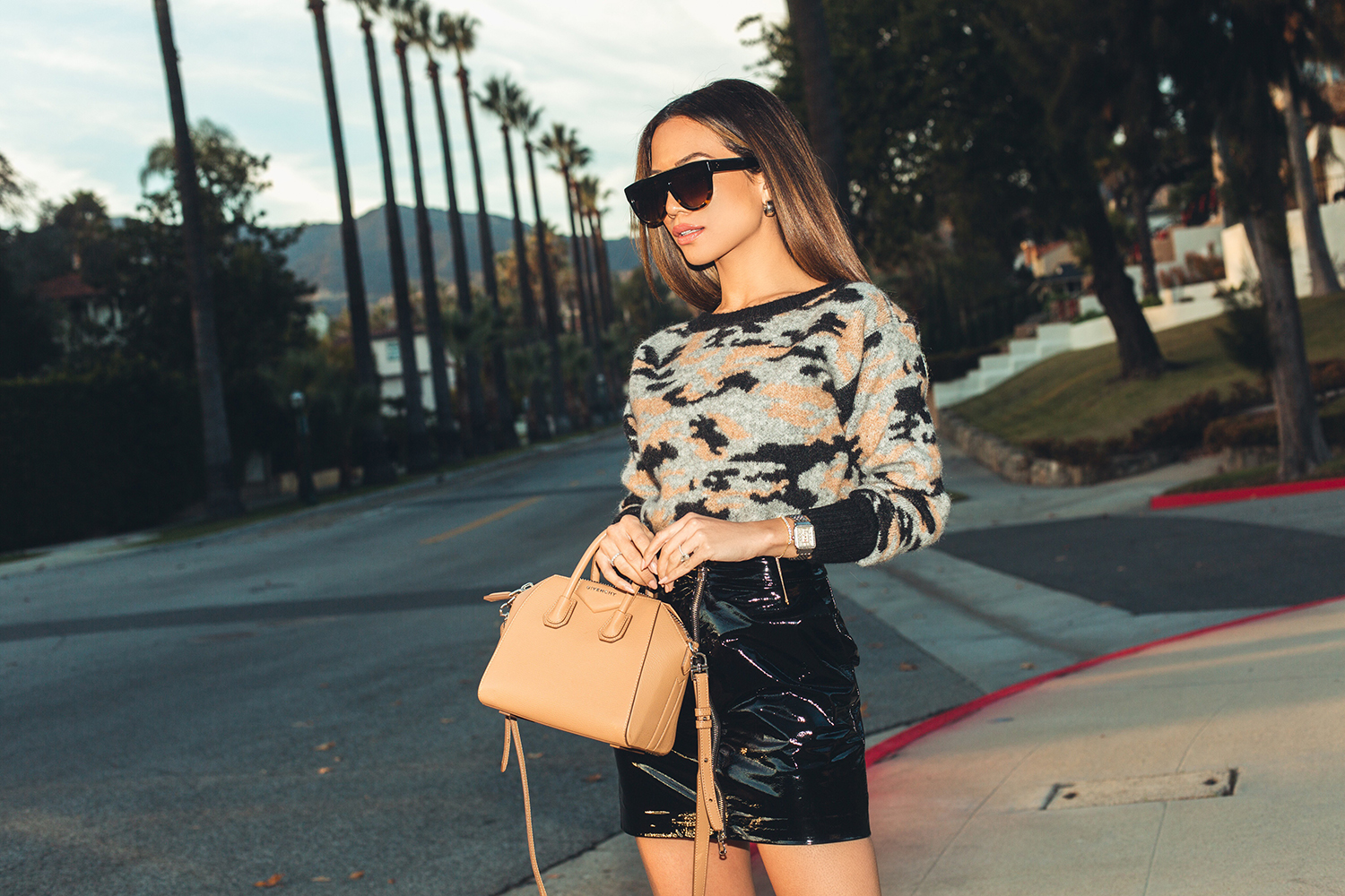 Jessi Malay wearing Marissa Webb sweater