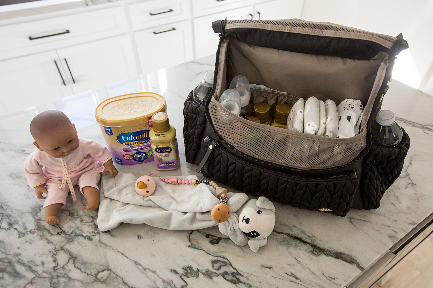 Traveling with infant diaper bag essentials