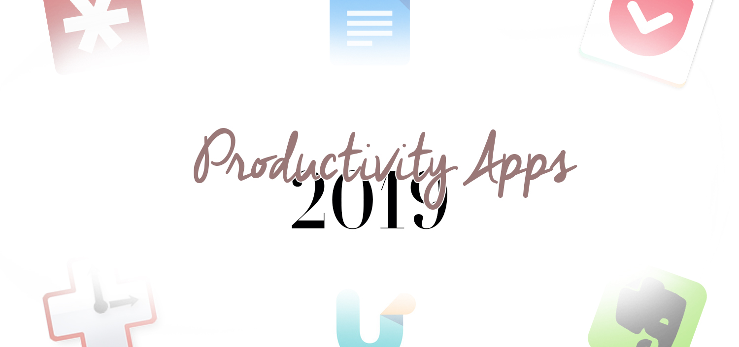 The Best Productivity Apps for 2019