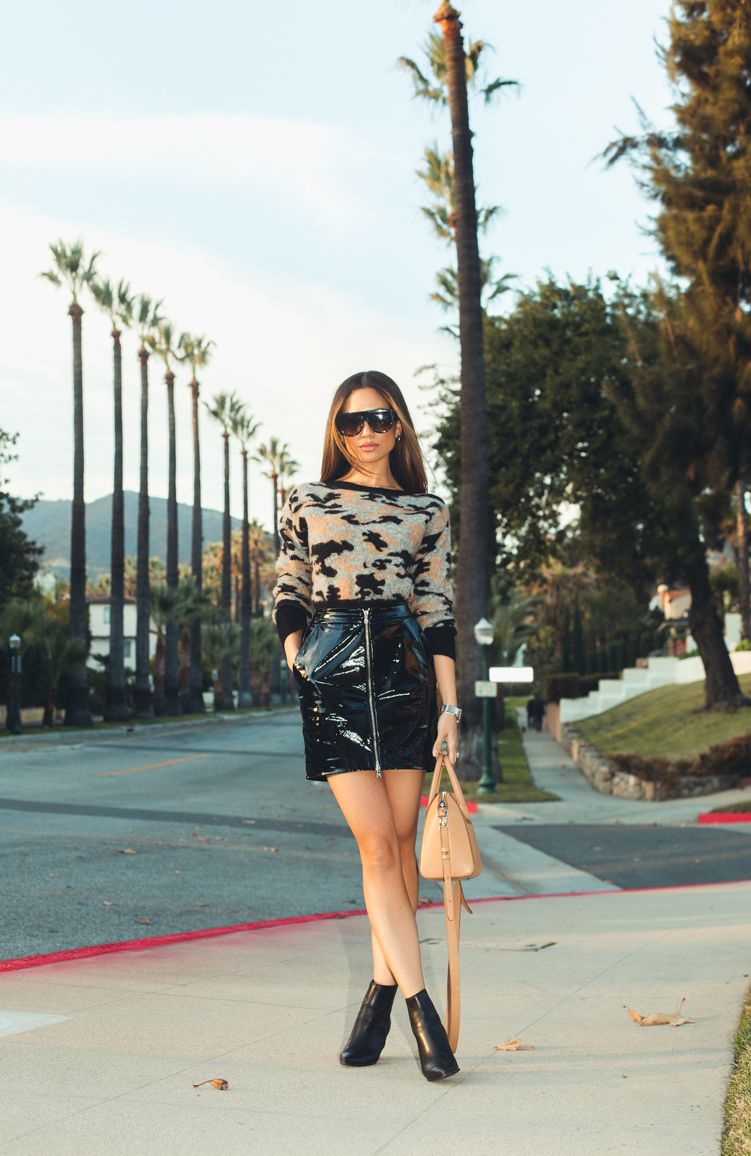 Trendy leather skirts fall winter 2019