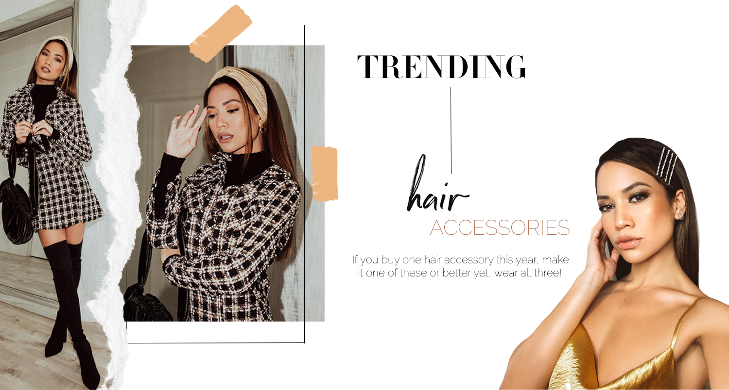 best hair accessory trends headbands 2019