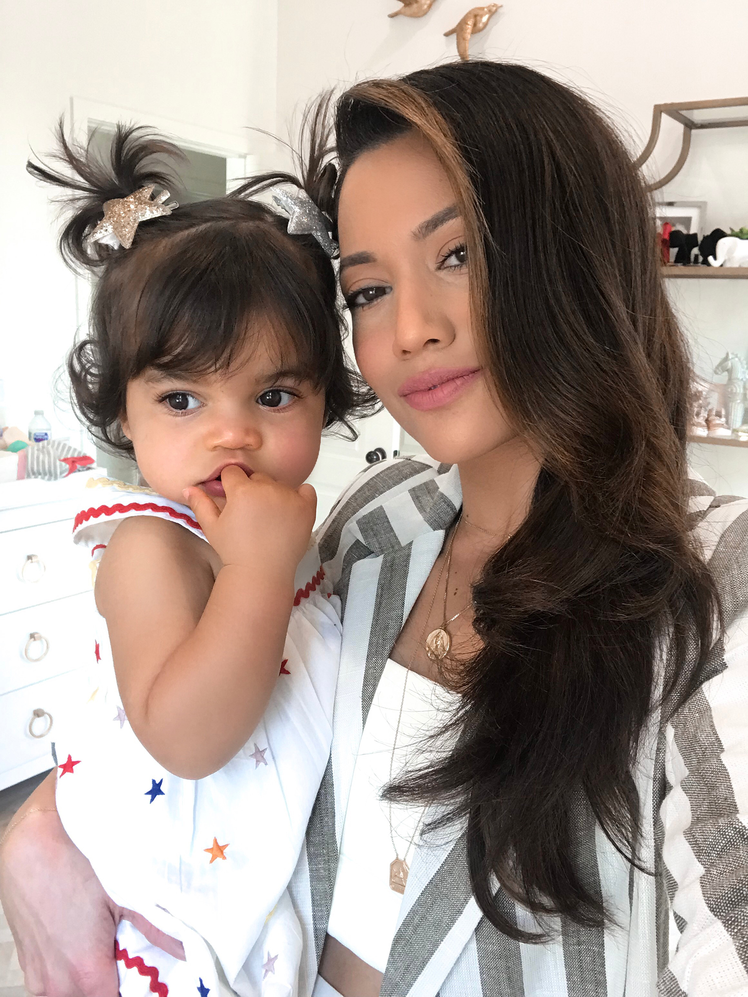 Jessi Malay and daughter Alessandra