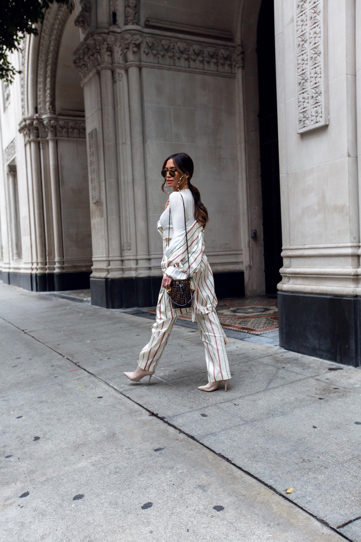 pinstripe suit trend