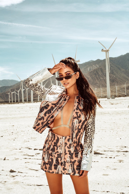Jessi Malay Festival Style Coachella 2019 H&M