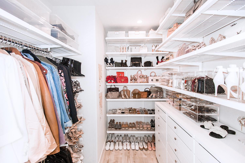 Jessi Malay big closet reveal new house