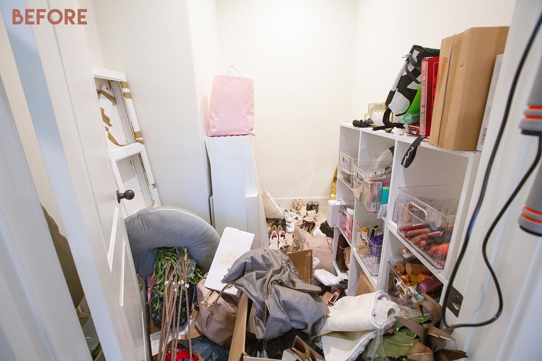 closet hoarding transformation