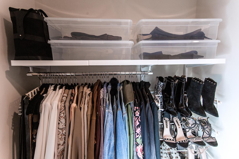 small closet hacks