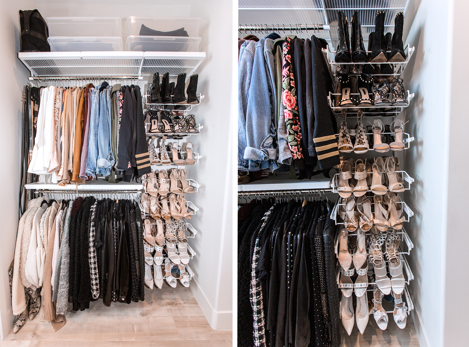 small closet makeover ideas pictures