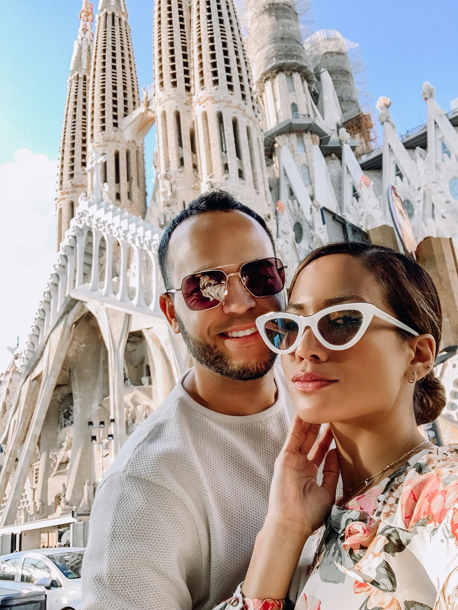 Jessi Malay Barcelona Spain Trip