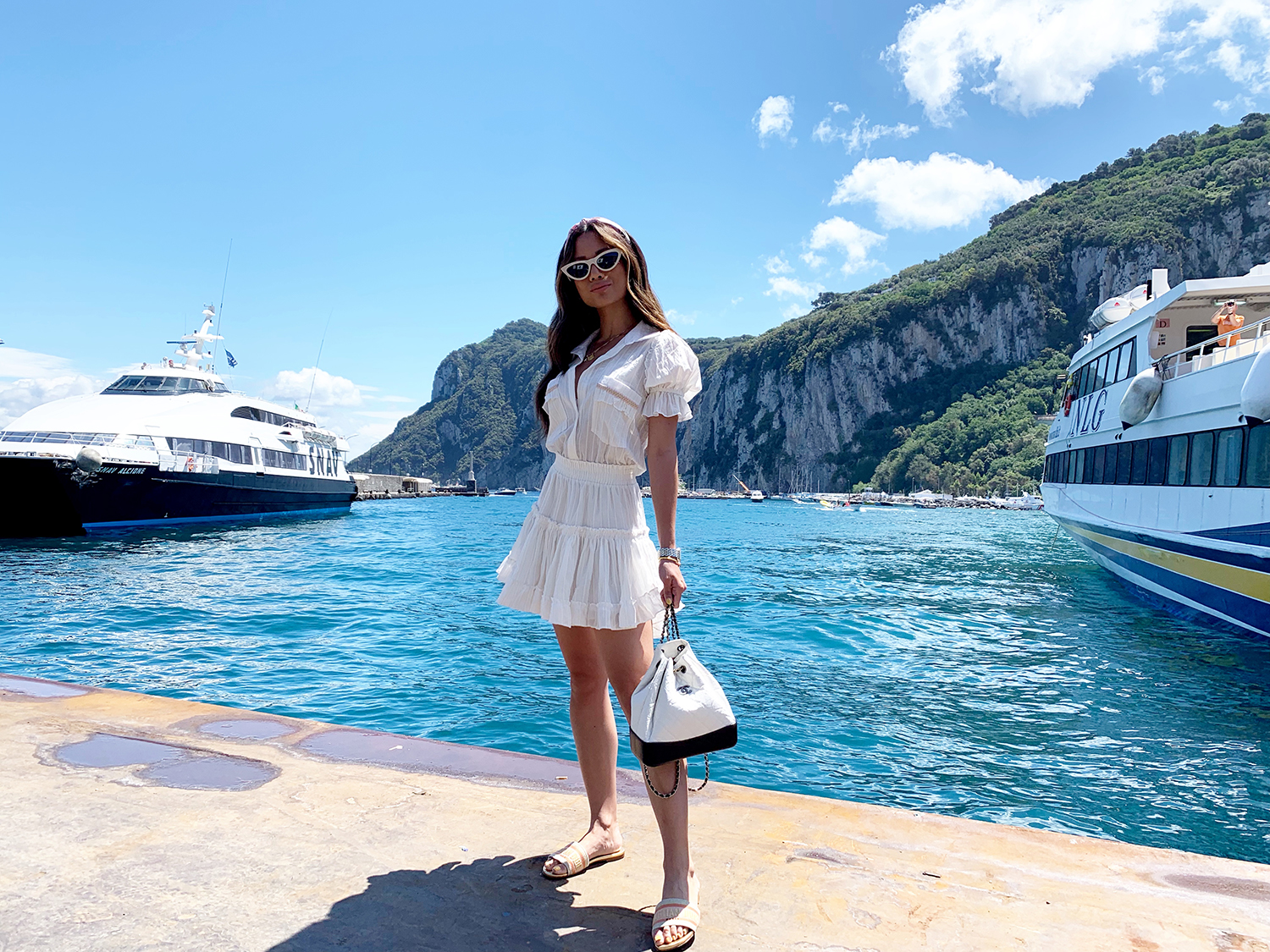 Jessi Malay Capri Travel Diary 2019