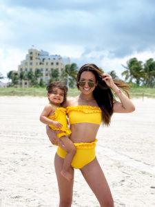 Mothers Daughter matching swimwear