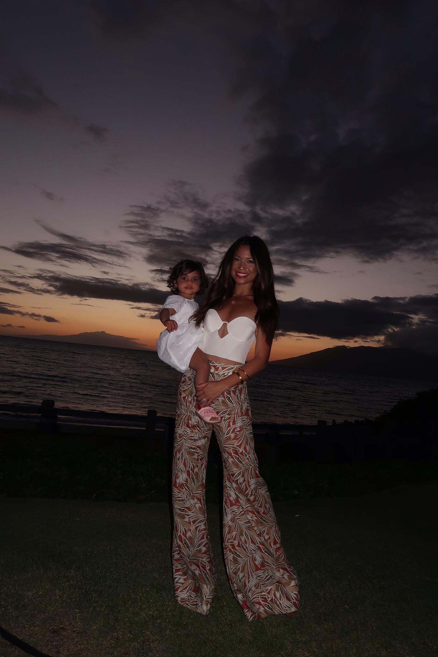 Jessi Malay at the Andaz Maui Resort