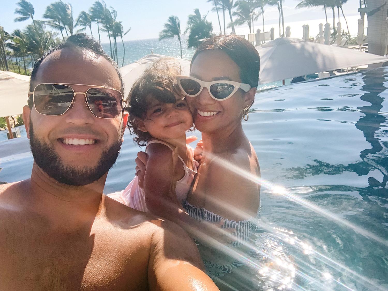 Jessi Malay family Hawaii 2019