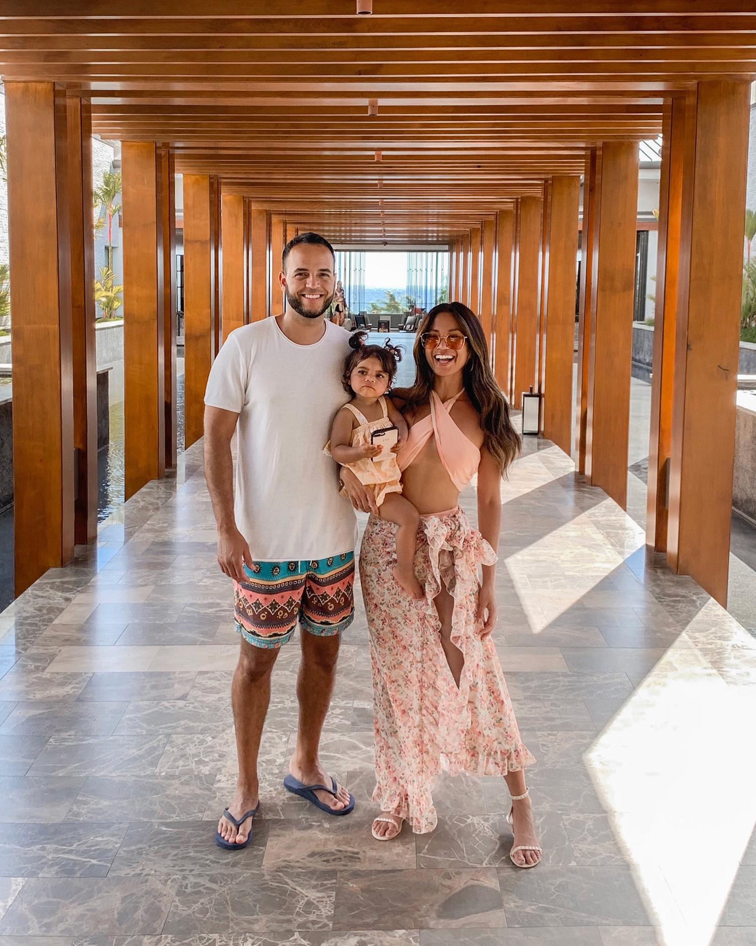 Jessi Malay family vacation Maui Hawaii