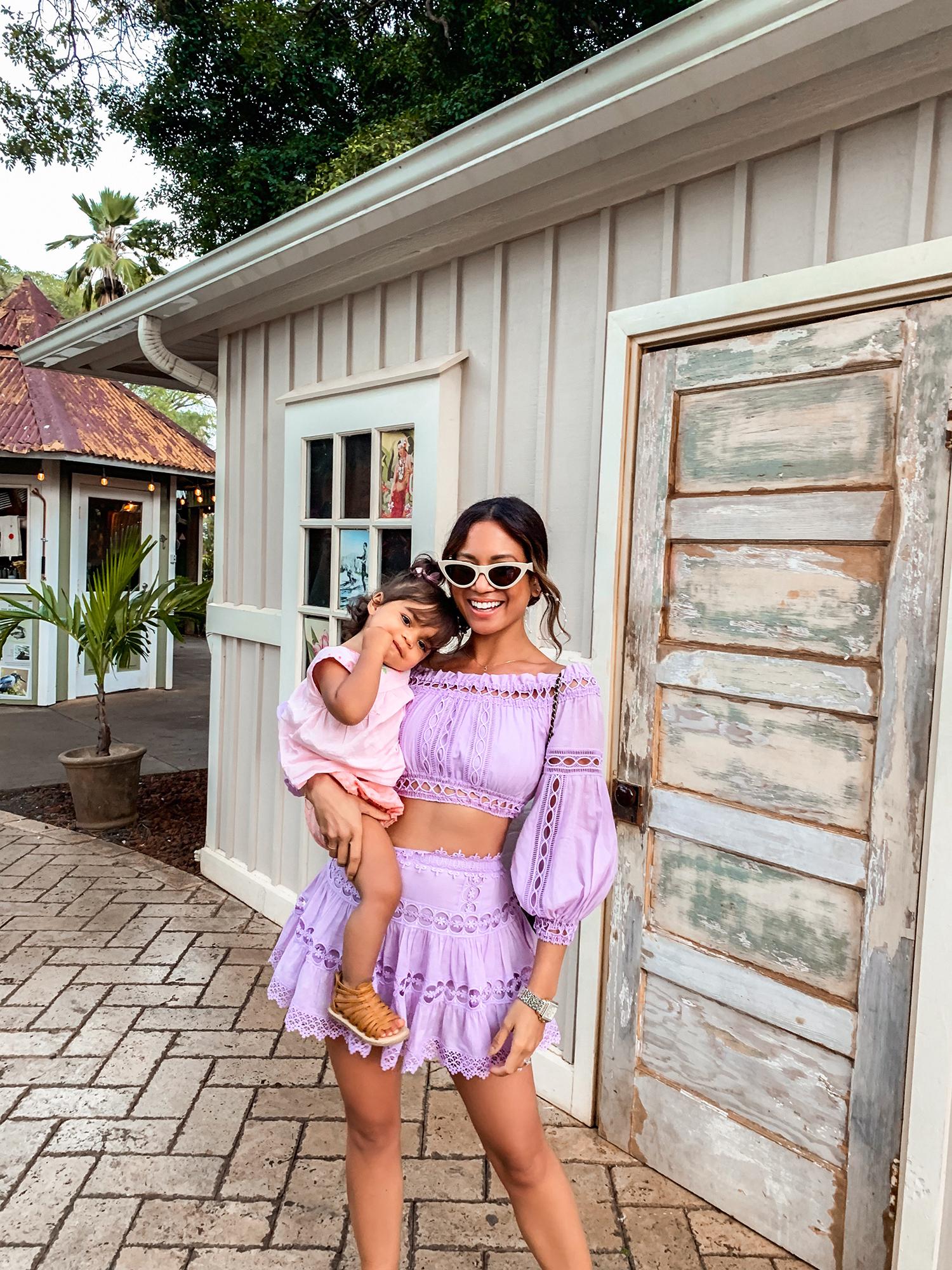 Jessi Malay wearing Charo Ruiz Ibiza Set